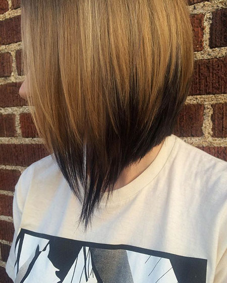Hair Bob Highlights Ombre