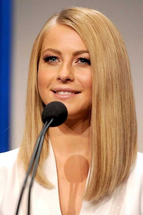 Julianne Hough Long Bob Hairstyles
