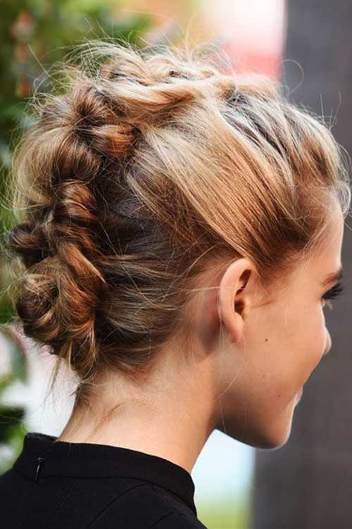 Party Hairstyles for Short Hair-10