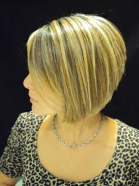 Cute Short Blonde Colored Haircut 2018