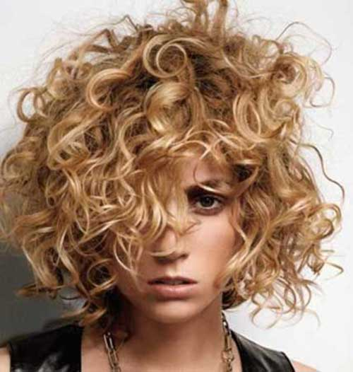Short Curly Hair Styles-18