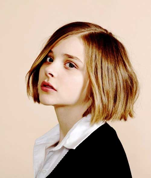 Best Cropped Bob Haircut for Girls 2018