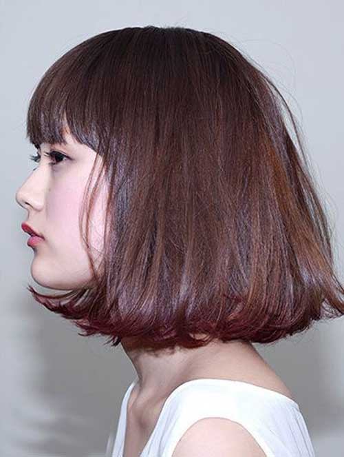 Messy Bob Hair for Asian Style