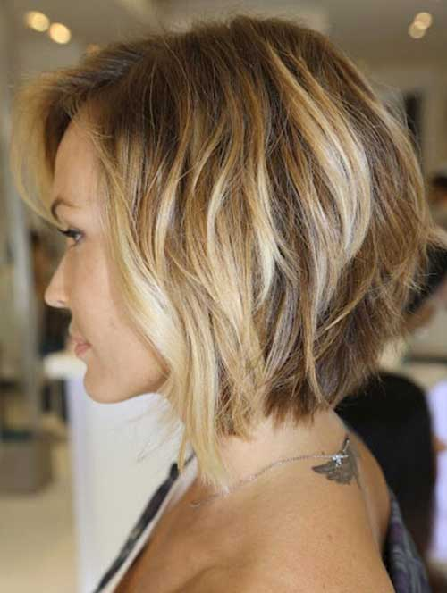 Best Brunette Highlighted Bob Hair