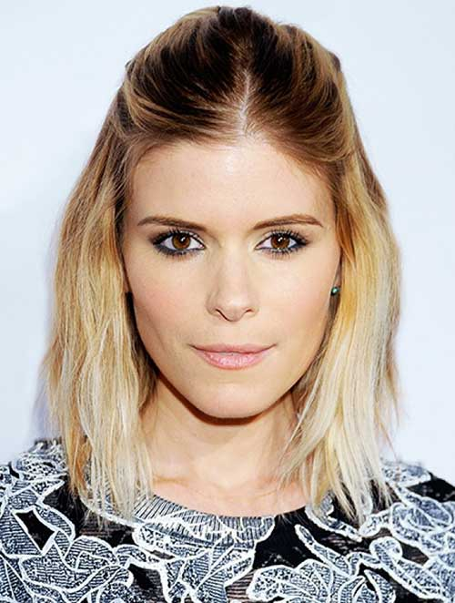 Kate Mara Hair Bob Ombre