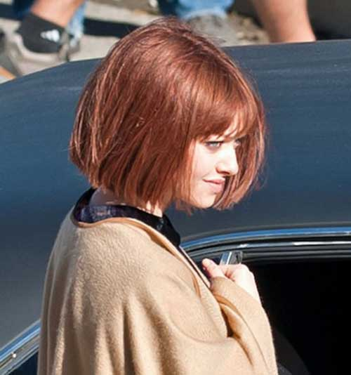 Bob Hairstyles with Bangs-20