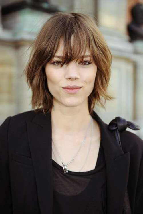 Bob Hairstyle with Bangs-21