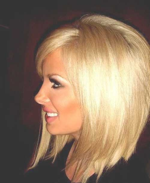 Blond Bob Layered Hairstyles
