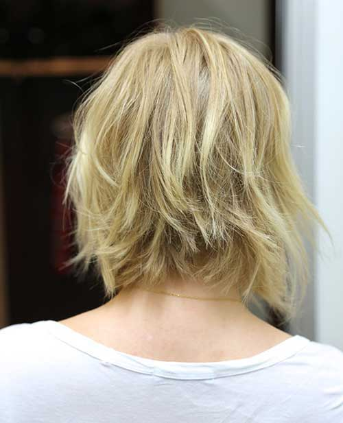 Best Choppy Bob Hairstyles Back View 2018