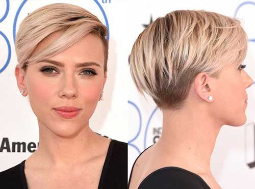 Trendy Short Hairstyles 2018-19