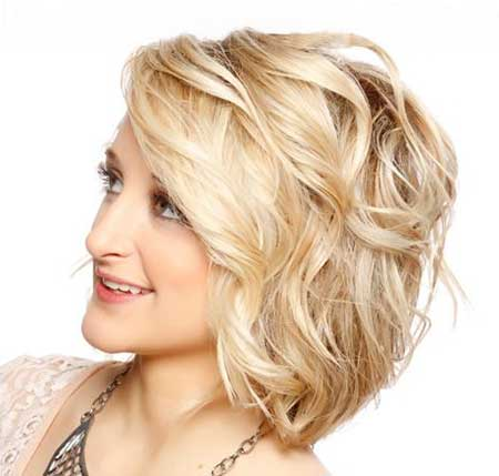Cute Curly Hairstyle for Girls