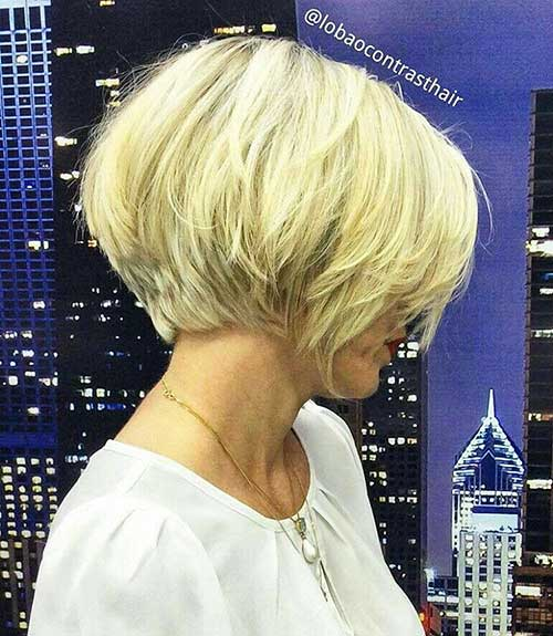 Short Layered Hairstyles 2018 - 28