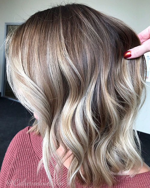 Balayage Ombre Highlights Hair