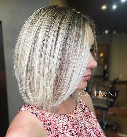Short Blonde Hairstyles 2018 - 24