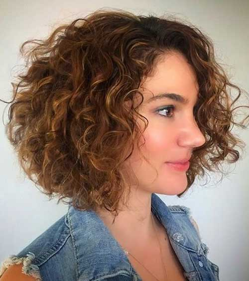 Curly Short Hair Styles
