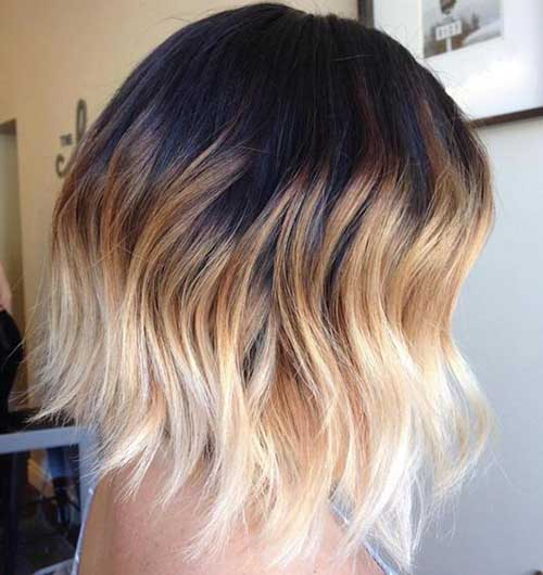 Ombre Short Hairstyles