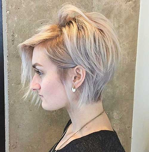 Short Hairstyles for Girls 2018 - 28