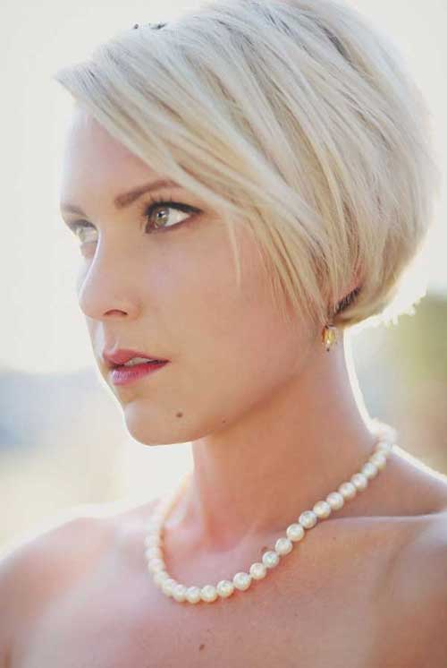Wedding Short Bob Hairstyles 2018-2018