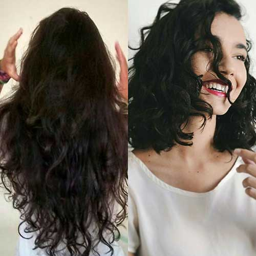 Short Haircut for Curly Hair - 22