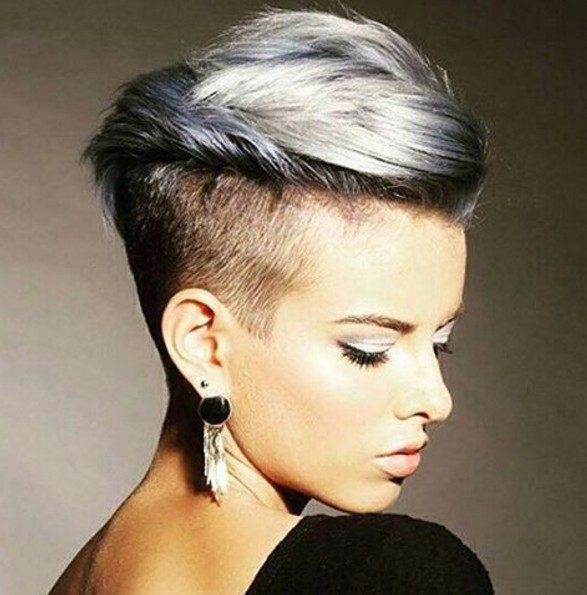 Trendy Pixie Haircut - Short Hairstyle Ideas 2018