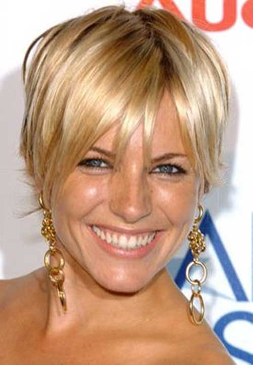 Short Hair Cuts For Women Over 40-11