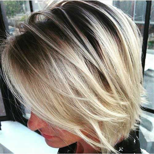 Latest Bob Haircuts for Blondes