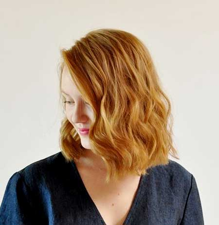 Ginger Straight Line Loose Curls