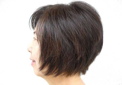 Short Haircuts for Thick Straight Hair-13