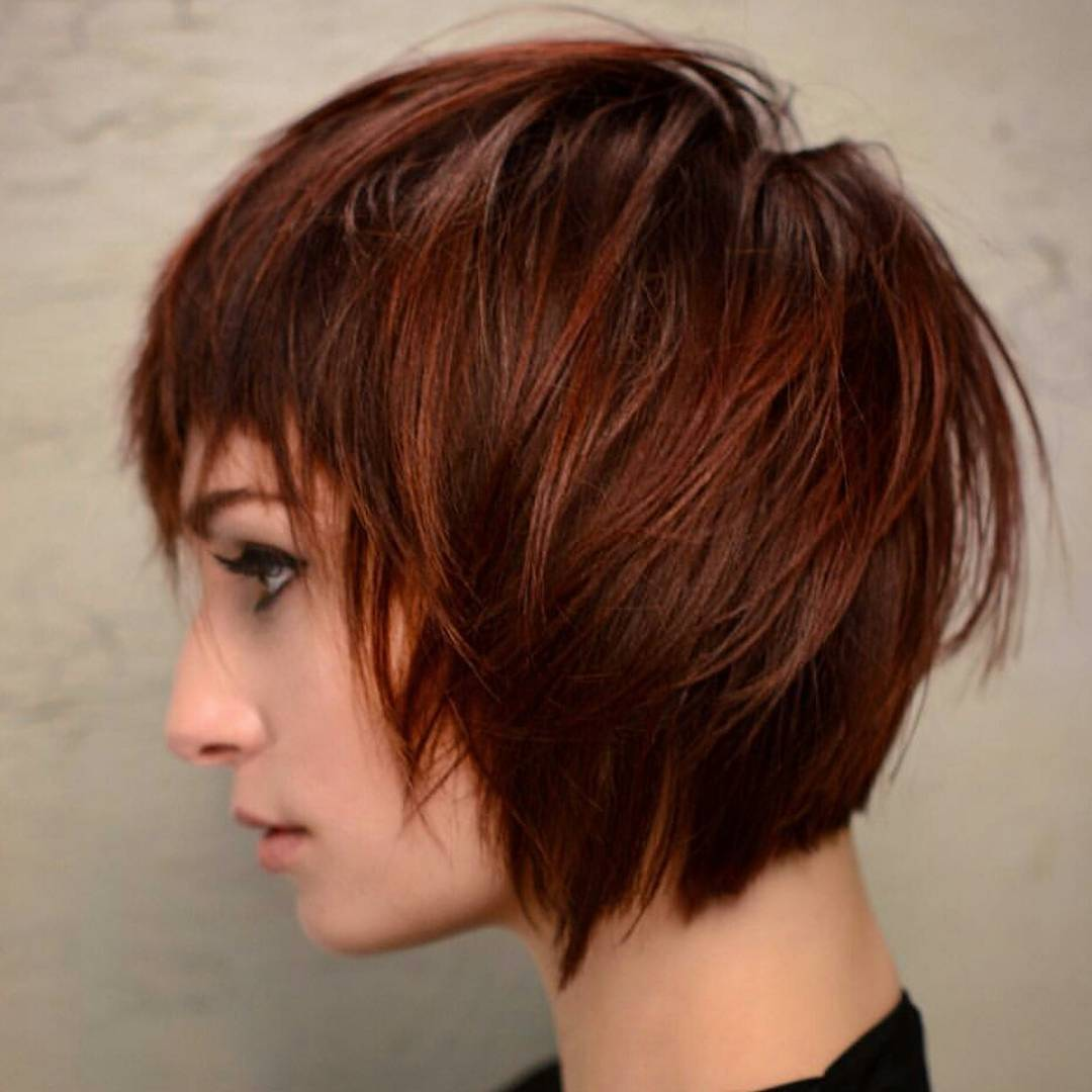 Trendy Short Haircuts - Hottest Women Hairstyle for Short Hair