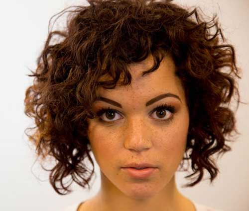 Best Short Curly Bob Hairstyles Ideas