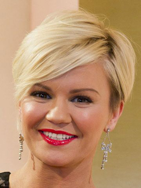 Short Cute Blonde Hairstyles
