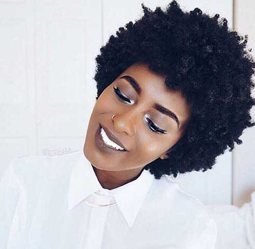 Short Natural Curly Hairstyles-12