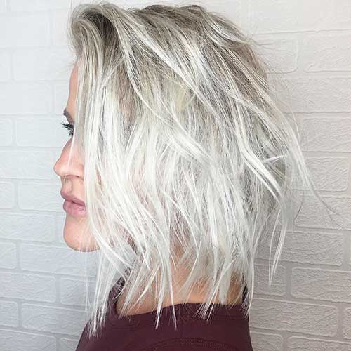 Short Choppy Hairstyles 2018 - 28