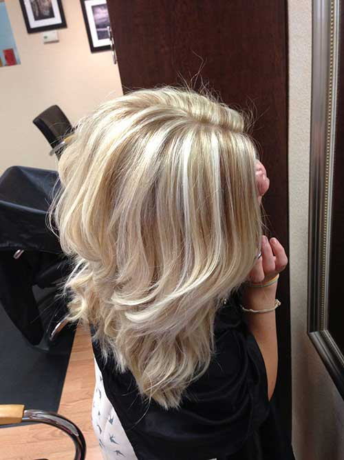 Short Blond Hairstyles with Highlights