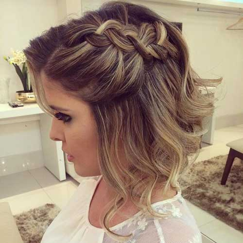 Wedding Short Hairstyles-15