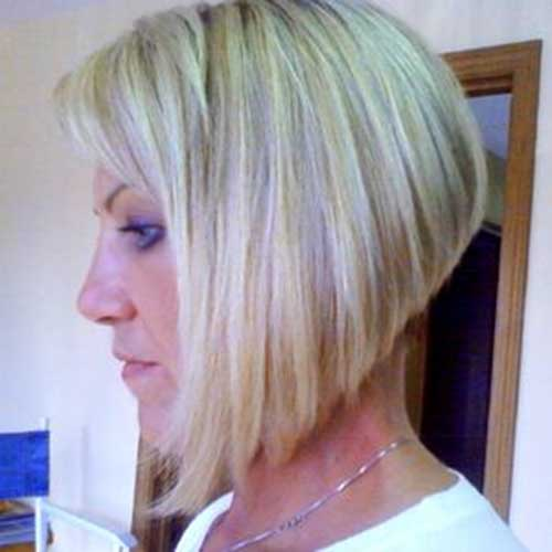 Graduated Bobs For Blonde Fine Hair