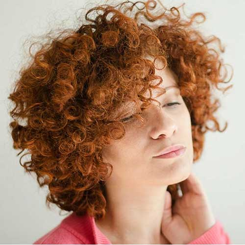 Short Natural Curly Hairstyles - 27