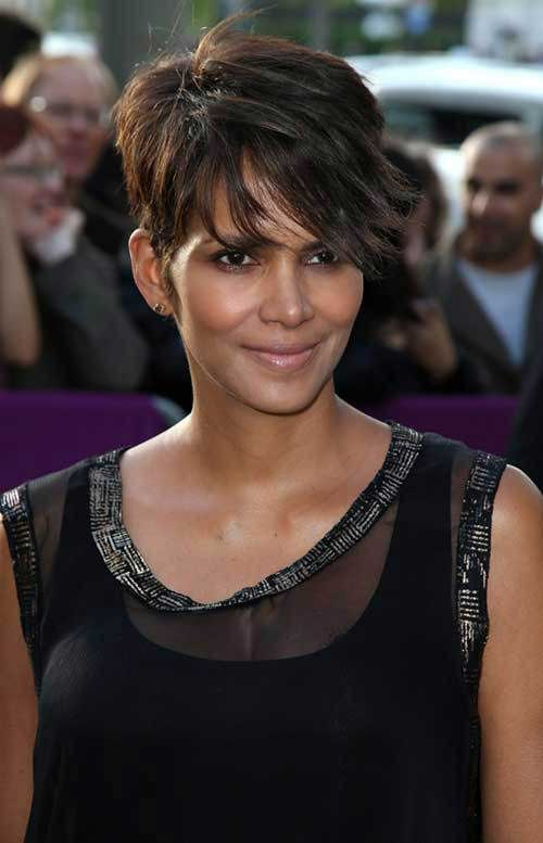 Halle Berry Pixie Hairstyles