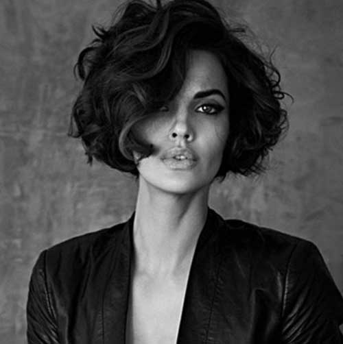Best Curly Bob Thick Dark Hairstyles Ideas