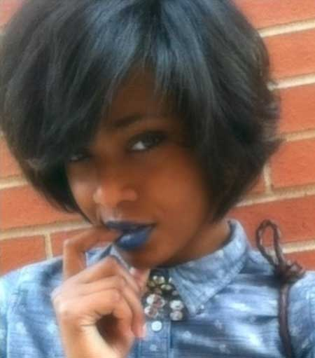 Short Boyish Bob Hairdo for Women