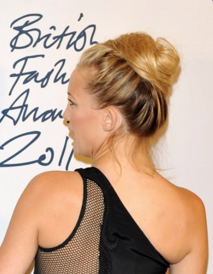 Kate Hudson Bun Hair Styles 2012