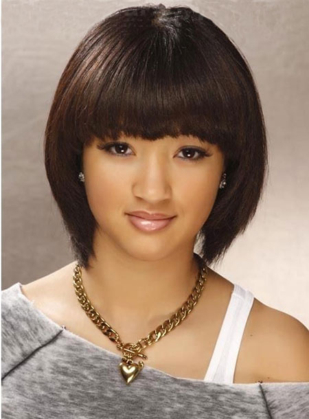 Hair Styles with Bangs for Short Hair_8