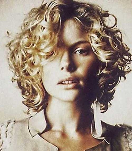 Best Curly Thick Bob Hairstyles