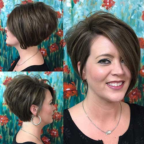 Brunette Short Haircuts