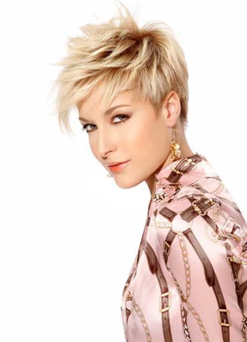 Razor Cut Short Layered Pixie Cuts