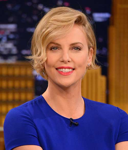 Best Charlize Theron Short Hairstyles 2018