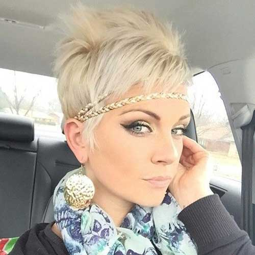 Cute Short Haircuts for Girls-15