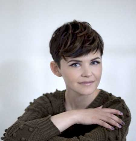 Short and Cute Pixie Hairstyle with Short Bangs