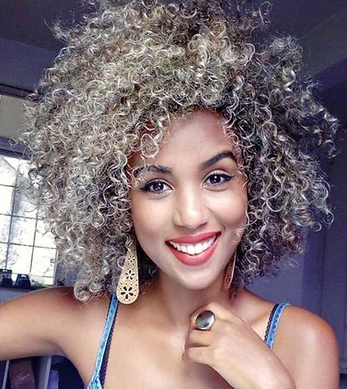 Short Natural Curly Hairstyle