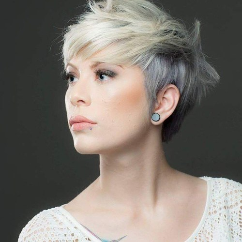 Two-tone Layered Pixie